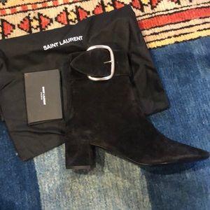 Brand New Saint Laurent Joplin Booties
